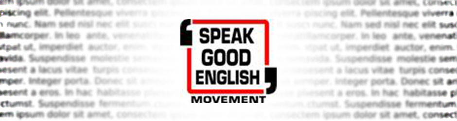 speakgoodenglish